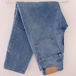 H&M denim mom jeans